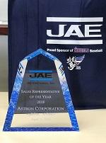 JAE Sales Rep of the Year